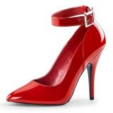 Rød Lakeret 13 cm SEDUCE-431 Stiletter pumps til mænd