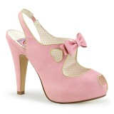 Rose 11,5 cm BETTIE-03 Pinup pumps with hidden platform