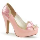 Rose 11,5 cm BETTIE-20 Pinup pumps with hidden platform