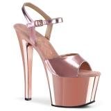 Rose 18 cm SKY-309 Chrome Platform High Heel