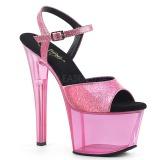 Rose 18 cm SKY-309GPT glitter platform sandals shoes