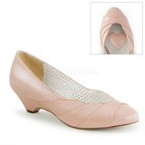 Rose 4 cm LULU-05 Pinup Pumps Shoes with Low Heels