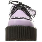 Rose CREEPER-205 Platform Women Creepers Shoes