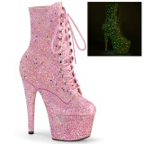 Rose glitter 18 cm ADORE-1020GDLG Pole dancing ankle boots