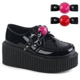 Ruskind 5 cm CREEPER-222 dame creepers plateausko