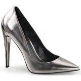 Sølv Mat 11,5 cm VOLTAGE-01 klassisk pumps sko til damer
