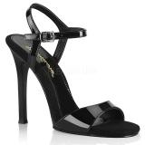 Sort 11,5 cm GALA-09 fabulicious sandaler med stilethæle