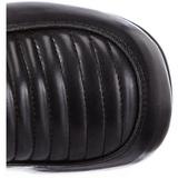 Sort 11,5 cm GOTHIKA-200 lolita støvler gothic plateau tykke såler