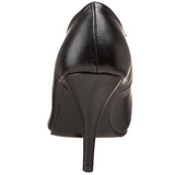Sort Mat 10 cm DREAM-420 kvinder høje hæle pumps
