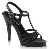 Sort Mat 12 cm FLAIR-420 højhælet sko til kvinder
