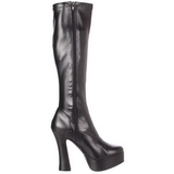 Sort Mat 13 cm Pleaser ELECTRA-2000Z Plateaustøvler til kvinder
