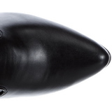 Sort Mat 13 cm SEDUCE-3050 Lårlange Overknee Støvler