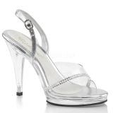 Strass sten 11,5 cm FLAIR-456 højhælede sko til mænd