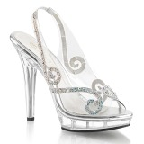 Strass sten 13 cm LIP-149 højhælede sandaler til kvinder