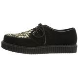 Suede 2,5 cm CREEPER-600 Platform Mens Creepers Shoes