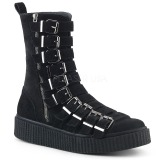 Suede 4 cm SNEEKER-315 Mens sneakers creepers shoes