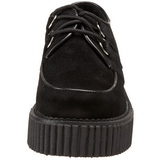 Suede 5 cm CREEPER-101 creepers shoes women gothic platform shoes