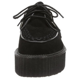 Suede 5 cm CREEPER-402S Platform Mens Creepers Shoes