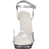 Transparent 13 cm LIP-108R Bikini posing high heel shoes fabulicious