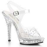 Transparent 13 cm LIP-108RS Bikini posing high heel shoes fabulicious