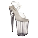 Transparent 23 cm Pleaser INFINITY-908 High Heels Platform