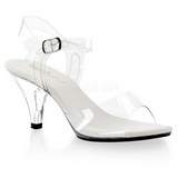 Transparent 8 cm BELLE-308 High Heels for Men