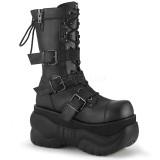 Vegan 10 cm BOXER-230 demonia støvler - unisex cyberpunk støvler