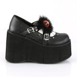 Vegan 11,5 cm Demonia KERA-11 lolita platform shoes