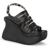 Vegan 11,5 cm Demonia PACE-33 lolita sandaler med plateau