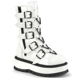 Vegan 5 cm SLACKER-160-2 cyberpunk platform boots