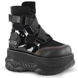 Vegan 7,5 cm NEPTUNE-126 demonia ankelstøvler - unisex cyberpunk ankelstøvler