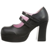 Vegan 9,5 cm Demonia GOTHIKA-09 lolita platform shoes