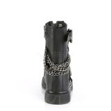 Vegan BOLT-250 demonia ankle boots - unisex combat boots