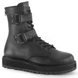 Vegan VALOR-250 demonia ankle boots - unisex combat boots