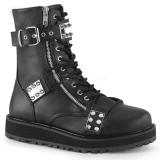 Vegan VALOR-280 demonia ankelstøvler - unisex militærstøvler