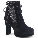 Velvet 10 cm DEMONIA CRYPTO-51 platform womens ankle boots