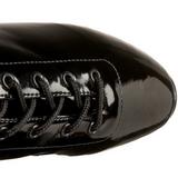 Vinyl 18 cm BALLET-1020 fetish ballet ankle boots