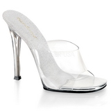 White 11,5 cm FABULICIOUS GALA-01 womens mules shoes