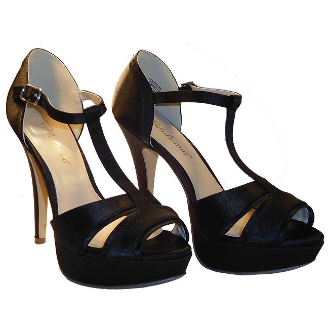 LOLITA-20 sorte high heels danmark str 35 - 36