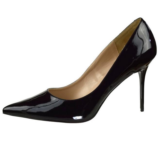 CLASSIQUE-20 sorte stiletter sko str 35 - 36