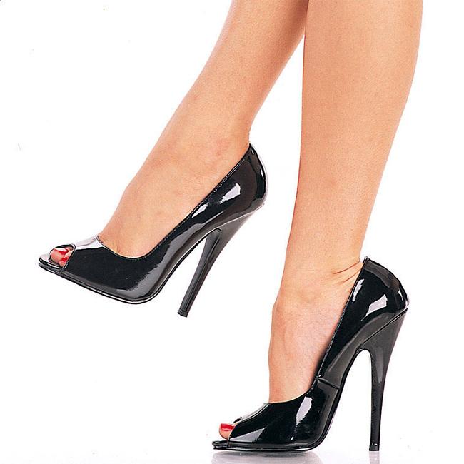 DOMINA-212 lak stiletter med høje hæle str 37 - 38