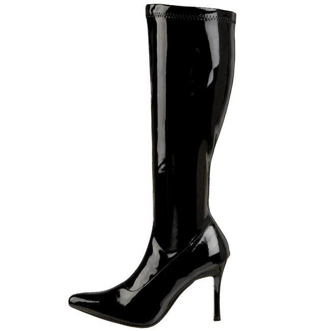 LUST-2000 lak støvler med stilethæl str 36 - 37